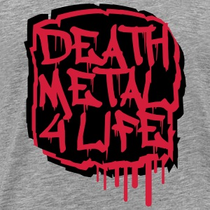 Death Metal 4 Life Graffiti T-Shirts - Men's Premium T-Shirt
