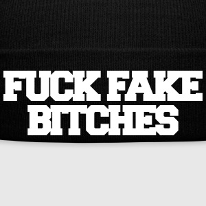 Fuck fake bitches Caps & Hats - Winter Hat
