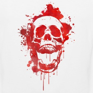 Blood splatter skull / Death Skull Tank Tops - Men's Premium Tank Top