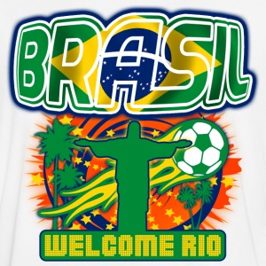 brasil welcome rio Tee shirts - Maillot de football Homme