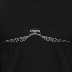 Burnout tire rubber T-Shirts - Men's Premium T-Shirt