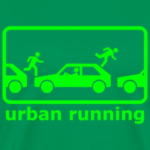 urban freerunning T-Shirts - Men's Premium T-Shirt