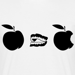 Apple bite Evolution T-skjorter - T-skjorte for menn