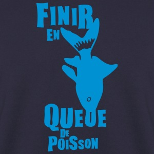 finir queue poisson expression Sweat-shirts - Sweat-shirt Homme
