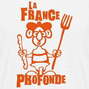France profonde expression  Tee shirts - T-shirt Homme