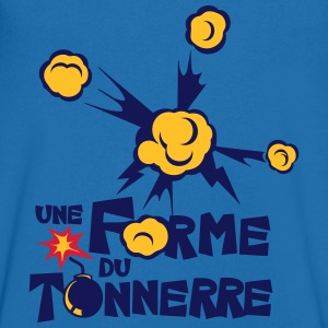 une forme du tonnerre Tee shirts - T-shirt Homme col V
