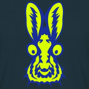 lapin gros yeux 0 Tee shirts - T-shirt Homme