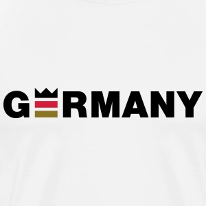 King queen Germany T-Shirts - Men's Premium T-Shirt