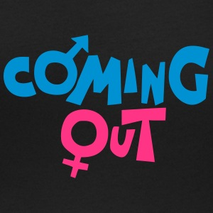 coming out symbol homme femme Tee shirts - T-shirt col rond U Femme