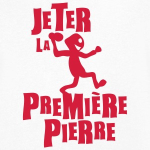 jeter premiere pierre expression Tee shirts - T-shirt Homme col V