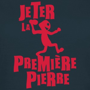 jeter premiere pierre expression Tee shirts - T-shirt Femme