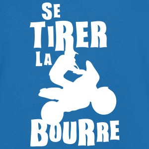 tirer la bourre expression Tee shirts - T-shirt Homme col V