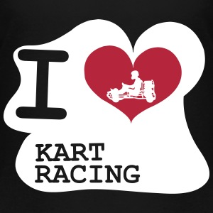 I Love Kart Racing Shirts - Kids' Premium T-Shirt