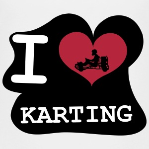I Love Karting Shirts - Teenage Premium T-Shirt