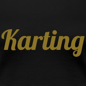 Karting T-Shirts - Frauen Premium T-Shirt