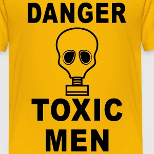 danger toxic men Shirts - Teenage Premium T-Shirt