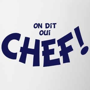On dit oui chef mono Flaskor & muggar - Mugg