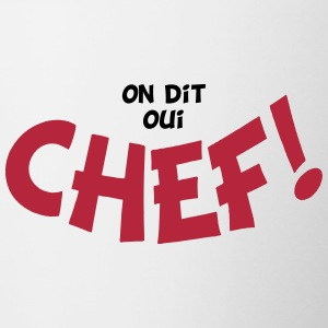 On dit oui chef 2 couleurs Flaskor & muggar - Tvåfärgad mugg
