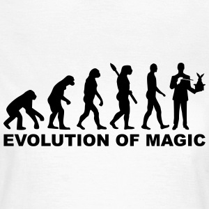 Evolution Zauberer T-Shirts - Frauen T-Shirt