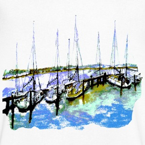 Segelboote Shirt - Men's V-Neck T-Shirt