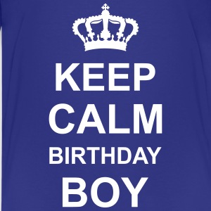 keep_calm_birthday_boy_g1 Shirts - Teenage Premium T-Shirt