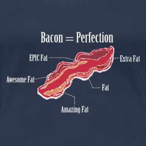 Anatomy of a Bacon Strip - Frauen Premium T-Shirt