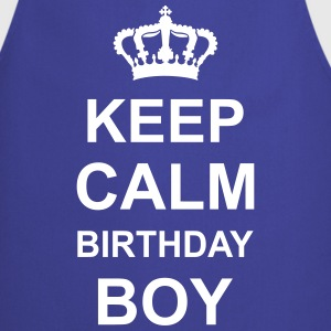 keep_calm_birthday_boy_g1 Delantales - Delantal de cocina