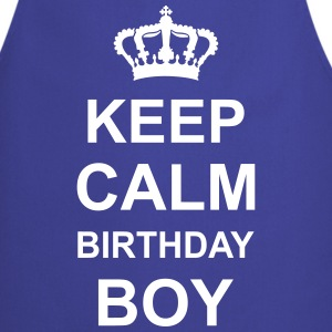 keep_calm_birthday_boy_g1 Fartuchy - Fartuch kuchenny