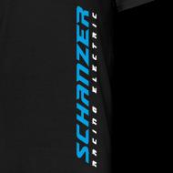 Motiv ~ Männer T-Shirt Logo senkrecht