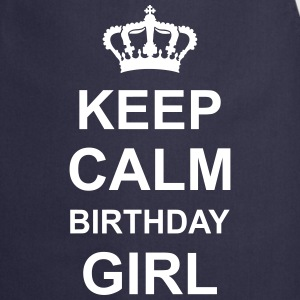 keep_calm_birthday_girl_g1 Delantales - Delantal de cocina