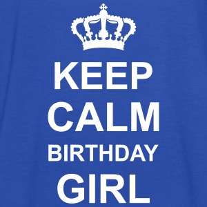 keep_calm_birthday_girl_g1 Topit - Naisten tankkitoppi Bellalta
