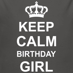 keep_calm_birthday_girl_g1 Gensere - Økologisk langermet baby-body