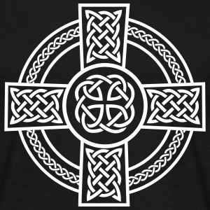 Celtic Cross T-Shirts - Männer T-Shirt