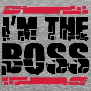 I´m The Boss Logo Design T-Shirts - Men's Premium T-Shirt