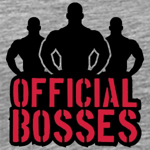 Officiële Bosses Team Crew T-shirts - Mannen Premium T-shirt