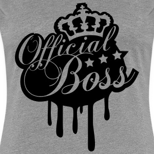 Cool Official Boss King Graffiti T-Shirts - Women's Premium T-Shirt