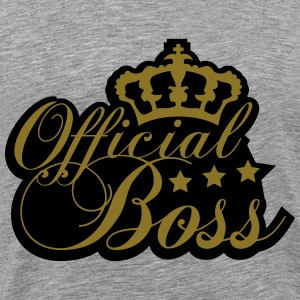 Cool Official Boss King Design T-Shirts - Men's Premium T-Shirt