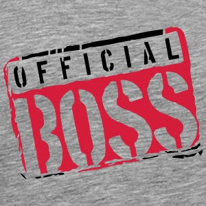 Cool Graffiti Boss officiel cachet Design Tee shirts - T-shirt Premium Homme