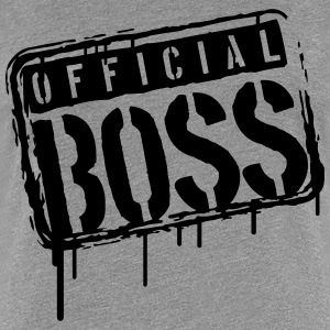 Cool Official Boss Graffiti Stamp T-Shirts - Women's Premium T-Shirt