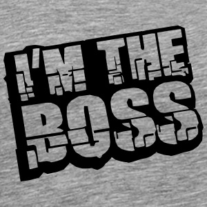 Cool I´m The Boss Logo Design T-Shirts - Männer Premium T-Shirt