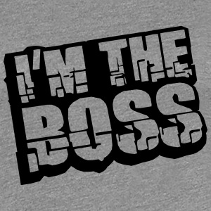 Cool I´m The Boss Logo Design T-Shirts - Women's Premium T-Shirt