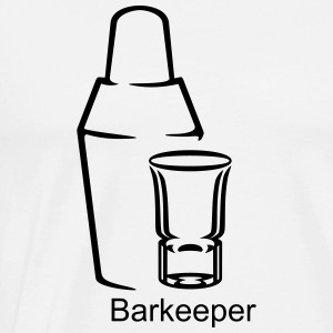 cocktail shaker / Mixer (a, 1c) T-Shirts - Men's Premium T-Shirt