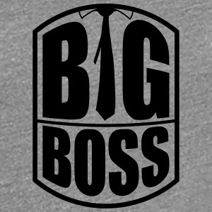 Cool Big Boss Tie Design T-Shirts - Women's Premium T-Shirt