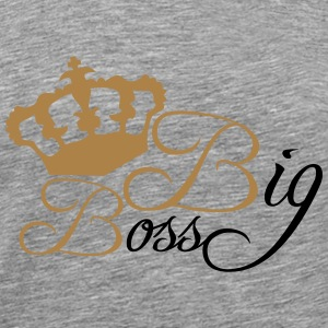 Big Boss King T-Shirts - Men's Premium T-Shirt