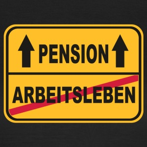 normales Leben vs Pension T-Shirts - Frauen T-Shirt