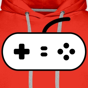 Video Game Control Pad Sweaters - Mannen Premium hoodie