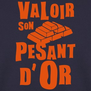 valoir pesant or expression Sweat-shirts - Sweat-shirt Homme