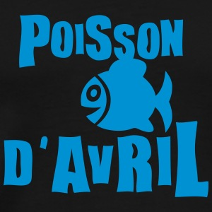 poisson avril expression Tee shirts - T-shirt Premium Homme