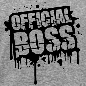 Official Boss Graffiti Stamp T-Shirts - Männer Premium T-Shirt