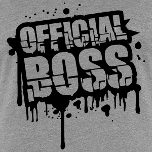 Official Graffiti Stamp Boss T-Shirts - Women's Premium T-Shirt